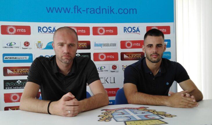 trener Igor Bondzulic i kapiten ekipe Uros Stojanovic scaled