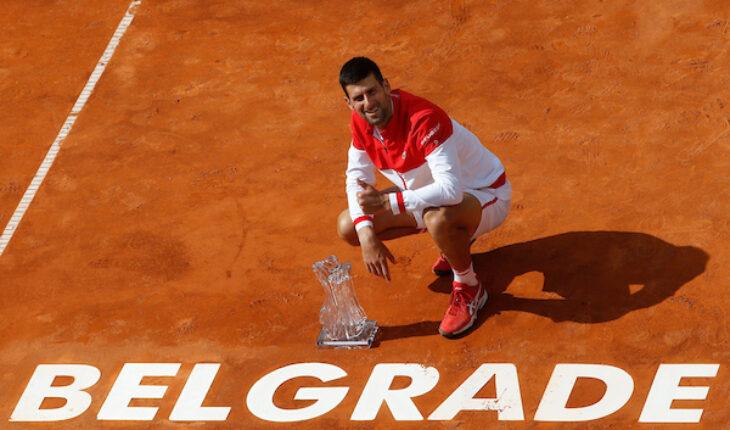 Novak Djokovic v Alex Molcan 3301
