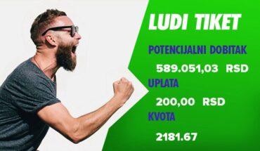 ludi ticket DOBITAN 1628396900396