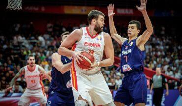 Vladimir Lucic Mark Gasol FIBA
