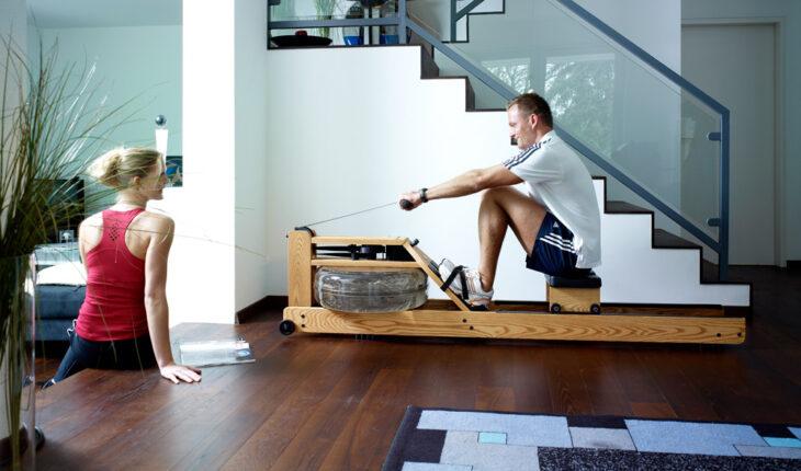 indoor rowing machine