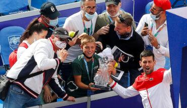 Novak Djokovic v Alex Molcan 3335